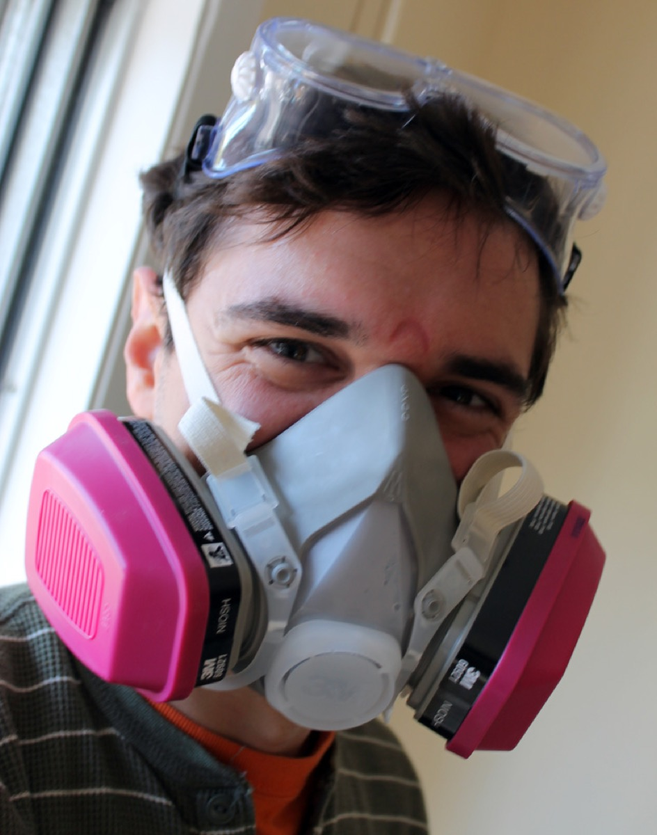 Respirator for Mixing Paint